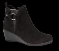 Marco Tozzi kort damestøvle sort 2-2-25042-25