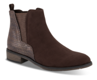 Marco Tozzi kort damestøvle brun 2-2-25321-35