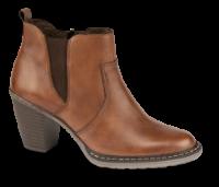 Rieker kort damestøvle brun 55284-24
