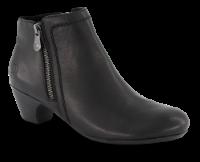 Rieker kort damestøvle sort 70551-00