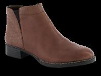Rieker kort damestøvle brun 73484-24