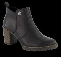 Rieker kort damestøvlett sort L9283-00