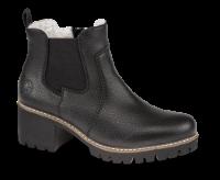 Rieker kort damestøvle sort Y8650-00