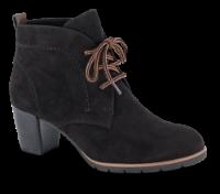 Marco Tozzi kort damestøvle sort 2-2-25107-35