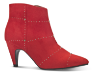 B&CO kort damestøvle rød