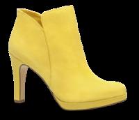 Tamaris kort damestøvlett gul 1-1-25316-21