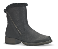 Rieker kort damestøvle sort Z9572-00