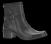Caprice kort damestøvlett sort -9-25321-21