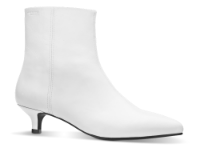 Vagabond kort damestøvlett hvit 4611-201