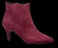 Marco Tozzi kort damestøvlett burgunderrød 2-2-25027-31