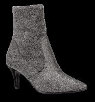 Marco Tozzi kort damestøvlett sølv 2-2-25032-31