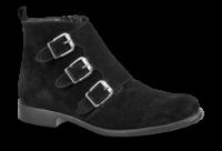 Tamaris kort damestøvlett sort 1-1-25082-29