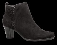 Jana Comfort kort damestøvlett sort 8-8-25301-22