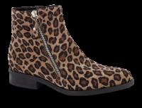 B&CO kort damestøvle leopard
