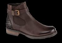 B&CO kort damestøvlett mørkebrun