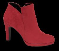 Tamaris kort damestøvle rød 1-1-25316-23