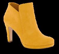 Tamaris kort damestøvle gul 1-1-25316-23