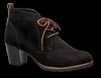 Marco Tozzi kort damestøvle sort 2-2-25107-33