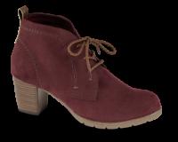 Marco Tozzi kort damestøvle bordeaux 2-2-25107-33