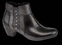 Rieker kort damestøvle sort 70571-00