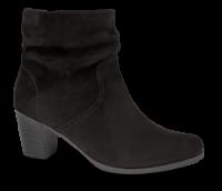 Rieker kort damestøvle sort  Y8973-00