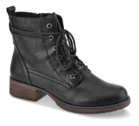 Rieker kort damestøvle sort Z9531-00