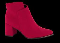 Marco Tozzi kort damestøvle rød 2-2-25095-23