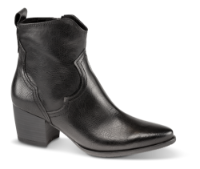 Marco Tozzi kort western-støvlett sort 2-2-25353-23