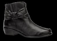 Caprice kort damestøvlett sort 9-9-25360-23