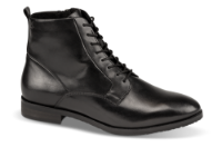 Caprice kort damestøvle sort 9-9-25102-23