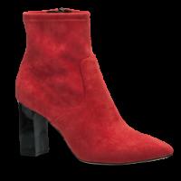 Caprice kort damestøvlett rød 9-9-25308-23