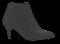 Duffy kort damestøvle sort 97-85601