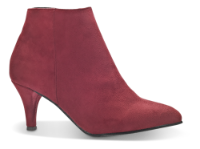 Duffy kort damestøvle rød 97-85601