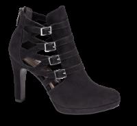 Tamaris kort damestøvle sort 1-1-25327-33