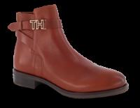 Tommy Hilfiger kort damestøvlett brun FW0FW04280