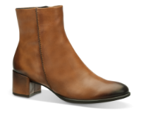 ECCO kort damestøvle brun 267403 SHAPE 35