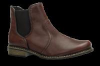 Rieker kort damestøvlett burgunder Z4964-35