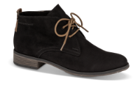 Marco Tozzi kort damestøvle sort 2-2-25101-33