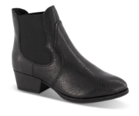 Tamaris kort damestøvle snake 1-1-25974-33