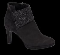 Tamaris kort damestøvle sort 1-1-25383-23