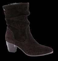 Tamaris kort damestøvle sort 1-1-25740-23
