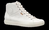 ECCO kort damestøvble hvid 430023 SOFT 7 LA