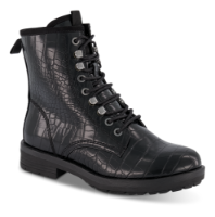 Tamaris kort damestøvle sort 1-1-26278-25
