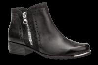 Caprice kort damestøvle sort 9-9-25403-23