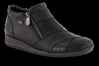 Rieker kort damestøvle sort 44271-00
