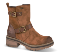 Rieker kort damestøvle brun 96274-24