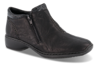 Rieker kort damestøvle sort L3882-01