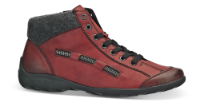 Rieker kort damestøvle bordeaux L6543-35