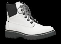 B&CO kort damestøvle hvid