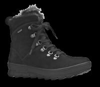 Legero kort damestøvle sort 300503